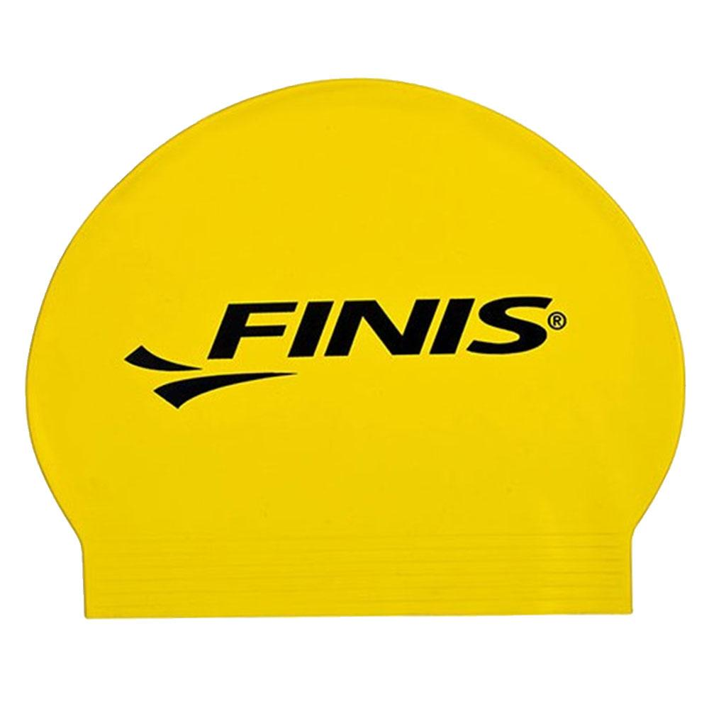 Finis Big Logo Yellow