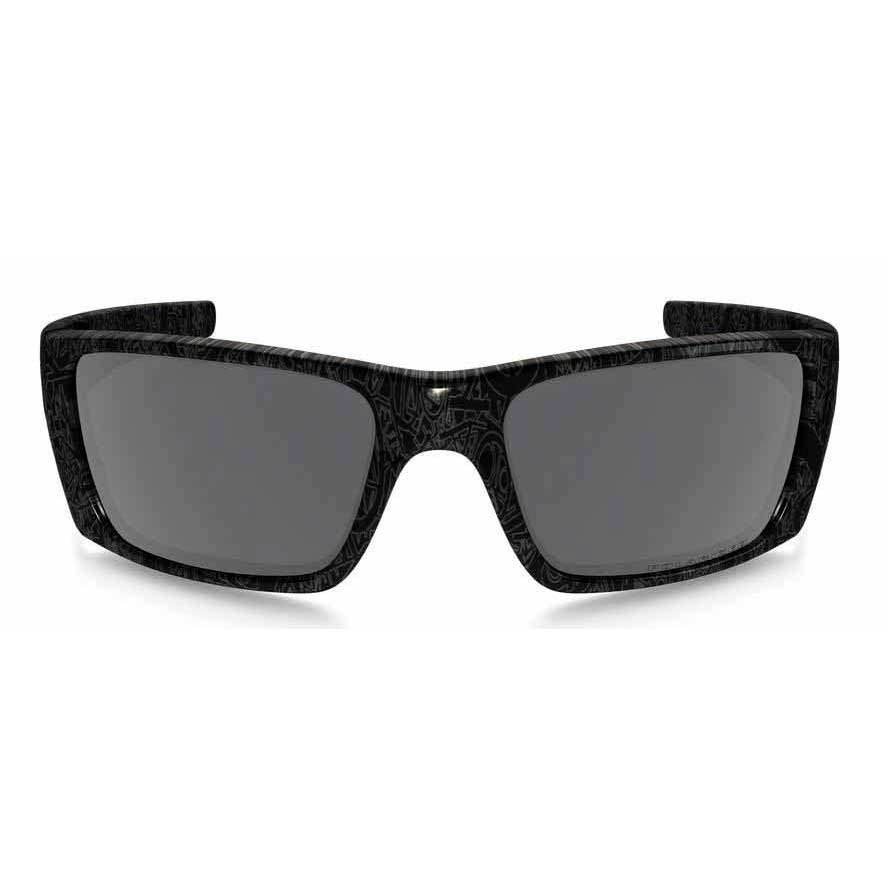 fcd3b8cd5ed ... Oakley Fuel Cell Black History Text Black Iridium Polarized ...