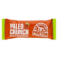 Paleo crunch Bar Raw Strawberry Protein Bar 48gr x 12 Units